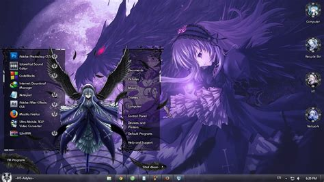 download themes pc anime windows 7 desktop themes anime www pixshark com images