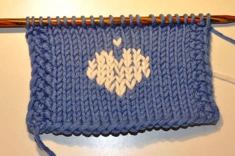 embroidery on knit fabric how to embroider with duplicat stitch on knitted fabric