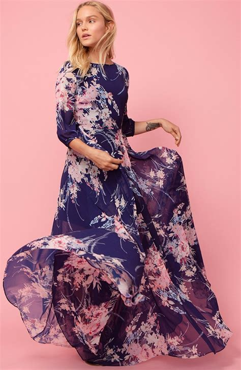 Bohemia Intl fashion bohemian print midi dress intl daftar