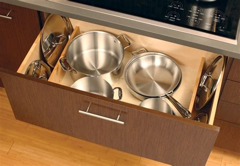 Saucepan Lid Storage Kitchen Redesign Tips Creative Organization Ideas