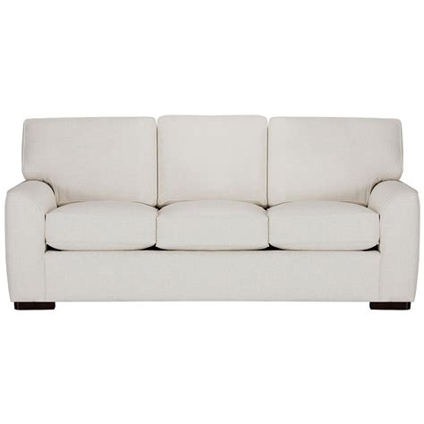 white fabric sofa city furniture white fabric sofa