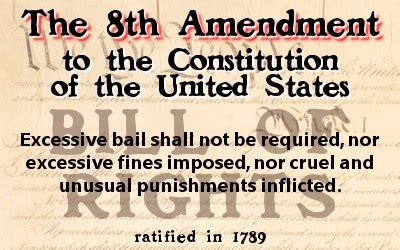8th amendment to the u.s. constitution | life, liberty