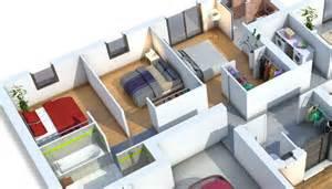 Impressionnant Modele De Suite Parentale #5: plan-maison-contemporaine_amethyste-554x317.jpg