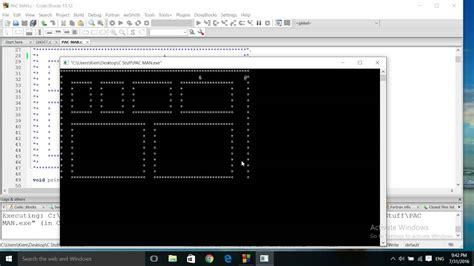 tutorial c game programming c programming simple game pac man random search of 2d grid