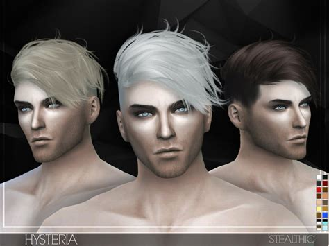 sims 4 cc guys hair stealthic hysteria male hair