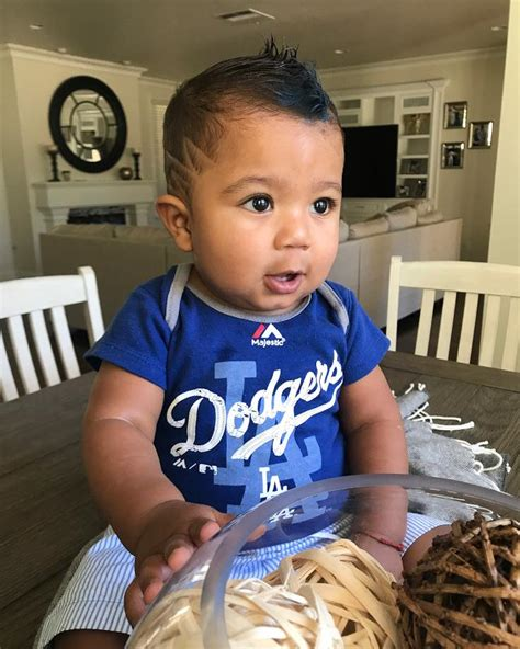 gametime haircuts houston tx photo of the day yasiel puig s adorable son daniel is