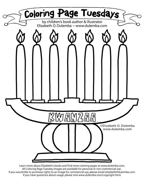 kwanzaa coloring page printable kwanzaa symbols coloring pages