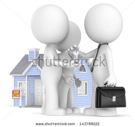 signing the contract for buying a house jojje s quot the dude quot set on shutterstock