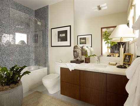 Modern Guest Bathroom Design Vista Guest Room Modern Bathroom San Francisco