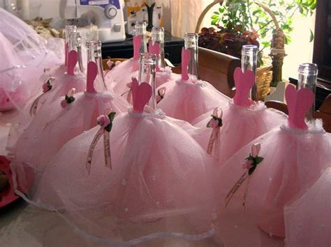 table bottle dressed centerpieces quinceanera sweet 16