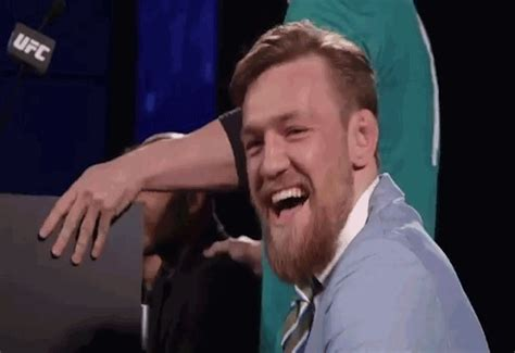 Middle Finger Meme Gif - pointing laughing gif by conor mcgregor find share on