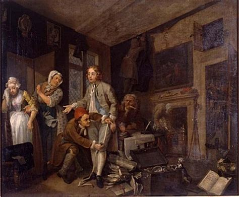 8 Paintings By Hogarth by In Historical Fiction Series Featuring