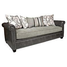 home westchester leather chesterfield sofa