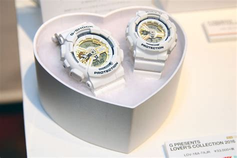 Casio G Shock Lov 16a 7adr g presents lover s collection 20th anniversary 2016 g