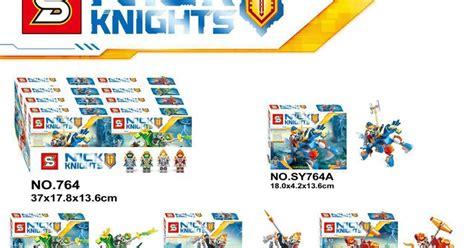 Lele 32011 1 4 Set Nexo Knights downtheblocks sheng yuan sy764 nexo knights with mech horses