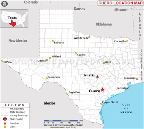 where is cuero texas on a texas map where is cuero texas