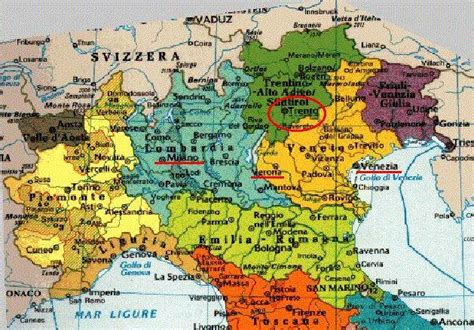 map of northern italy northern italy map cities