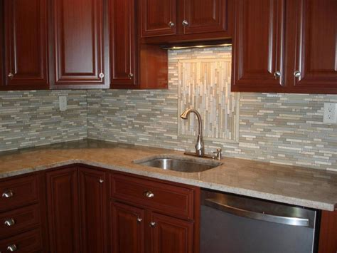 Kitchen Backsplash Gallery by Rsmacal Page 3 Square Tiles With Light Effect Kitchen