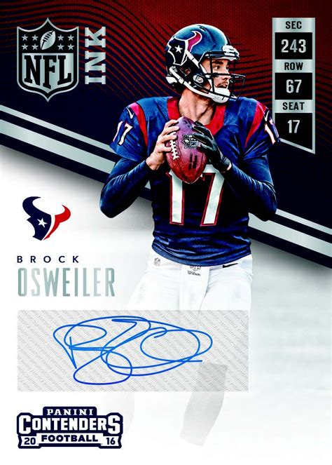 Nfl Com Gift Card - 2016 panini contenders nfl football cards checklist