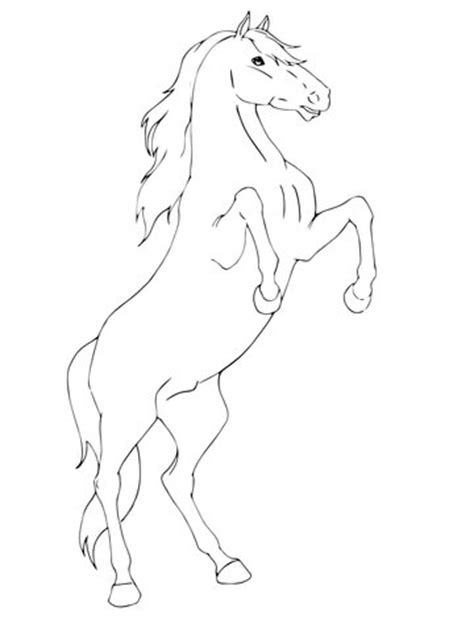 Rearing Coloring Pages Pictures
