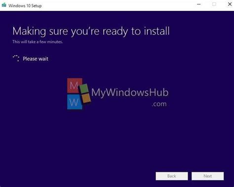 install windows 10 getting ready how to upgrade to windows 10 for free using media creation