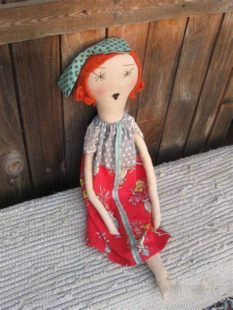 Handmade Rag Doll - flora handmade rag doll soft cloth doll 22 inches