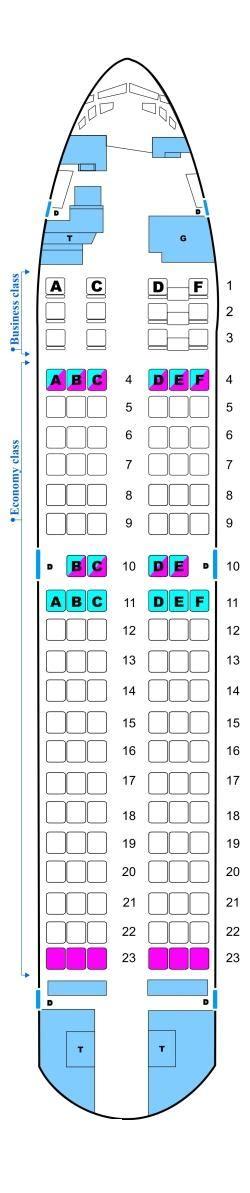 boeing 737 300 plan si鑒es seat map aerosvit airlines boeing b737 300