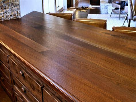 Wood Slab Countertop by Slab Walnut Wood Countertop Photo Gallery By Devos Custom