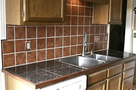 terracotta backsplash tiles granite tile countertop w terracotta backsplash solar