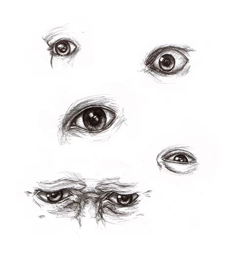 Sketches With Pen by Eye Pen Sketches By Imaginesto On Deviantart