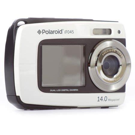 polaroid if045 14.1 mp 5x zoom dual screen waterproof