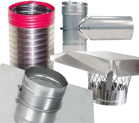 rockflex stainless steel smooth wall chimney liner kit