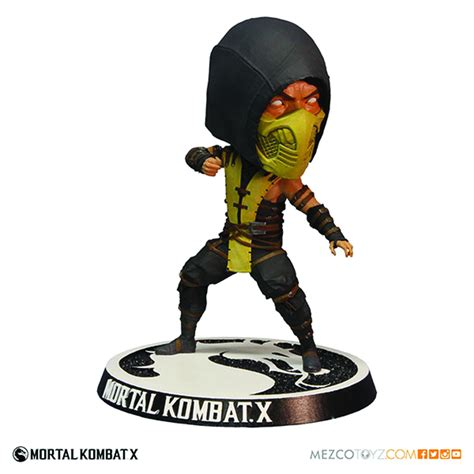 x bobblehead feb158358 mortal kombat x scorpion bobblehead previews