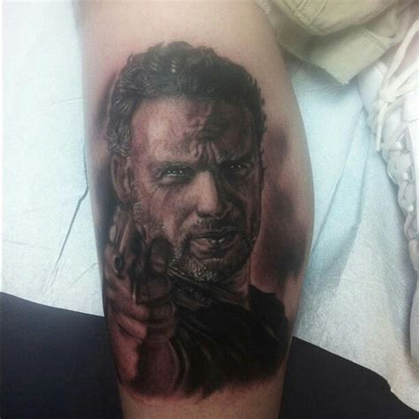tattoo on shane s chest walking dead 14 terrifying tattoos from the walking dead