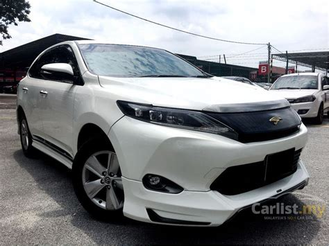 new sports speedicars toyota harrier toyota harrier 2016 elegance 2 0 in kuala lumpur automatic
