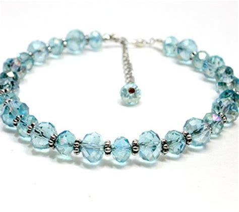light blue crystal bracelet 40 best images about crystal dog and cat collars on