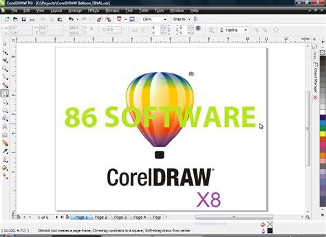 desain grafis berbasis vektor adalah coreldraw graphics suite x8 terbaru full version 86 software