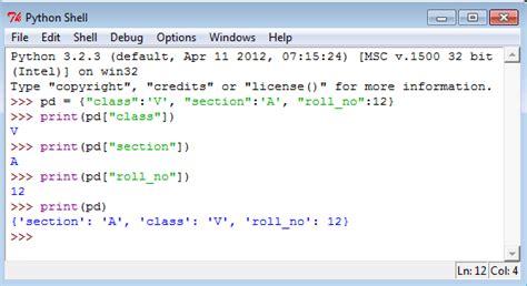 tutorial python dictionary python dictionary key value list