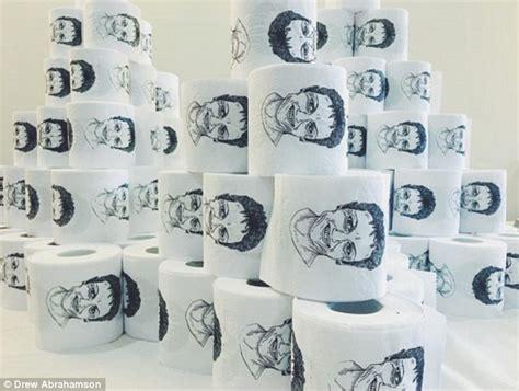 artist designs toilet paper  pauline hansons face   sheet daily mail