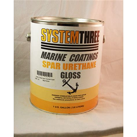 Q40 0245 Gallon Gloss Spar Varnish System Three Paint