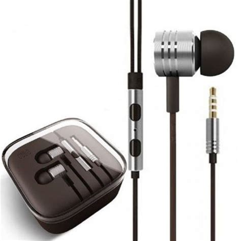 Xiaomi Mi Piston Classic Earphone Oem Black 1 xiaomi mi piston huosai earphone oem silver jakartanotebook