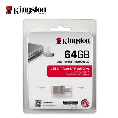 Otg 64gb kingston otg flash memory usb multifunctional flash drive 64gb pendrive portable storage stick