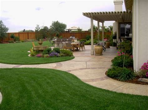 Landscape Design Ideas For Large Backyards 17 Fantastic Big Backyard Landscaping Ideas Wartaku Net