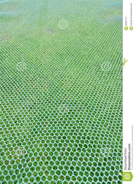 Mock Mat by Mock Skiing Mat And Grass Royalty Free Stock Photography