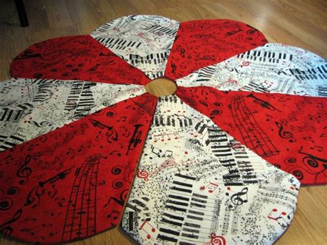 deep red tree skirts note tree skirt in white by miladycreations 64 00