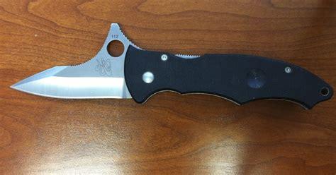 spyderco gunting knife spyderco c68gp gunting