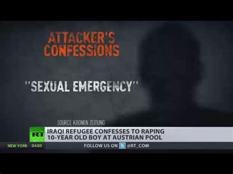 10yo rape sexual emergency iraqi refugee raped 10yo boy at