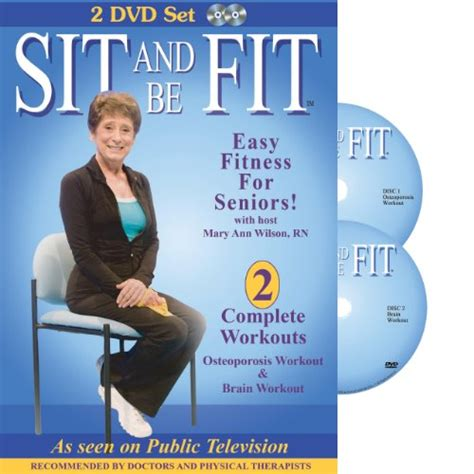Chair Dvd For Seniors by Sit And Be Fit Osteoporosis And Brain Chair Exercise