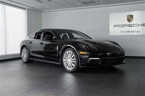2018 black porsche panamera 2018 porsche panamera panamera 4 for sale in colorado