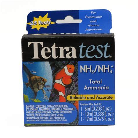 Sera Amonia Ammonia Test Kit tetra ammonia test kit sheerwater pond supply